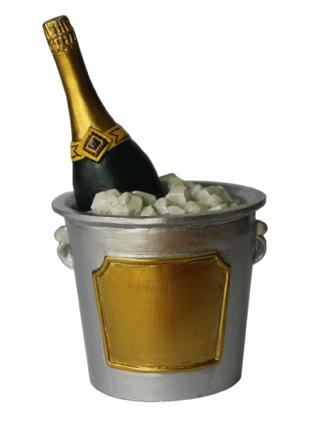 Champers Ice Bucked Cake Topper